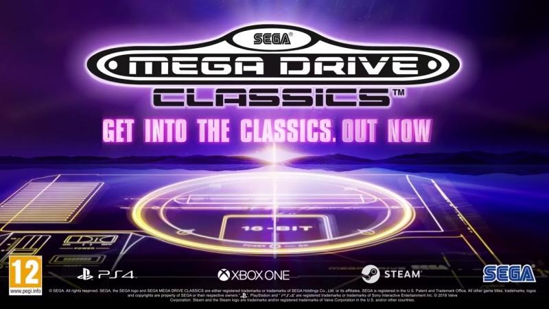 SEGA Mega Drive Classics Launch Music Video by Eclectic Method