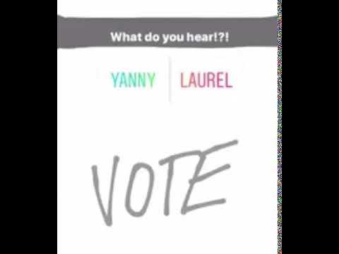 Что вы слышите: Йенни или Лорел?
