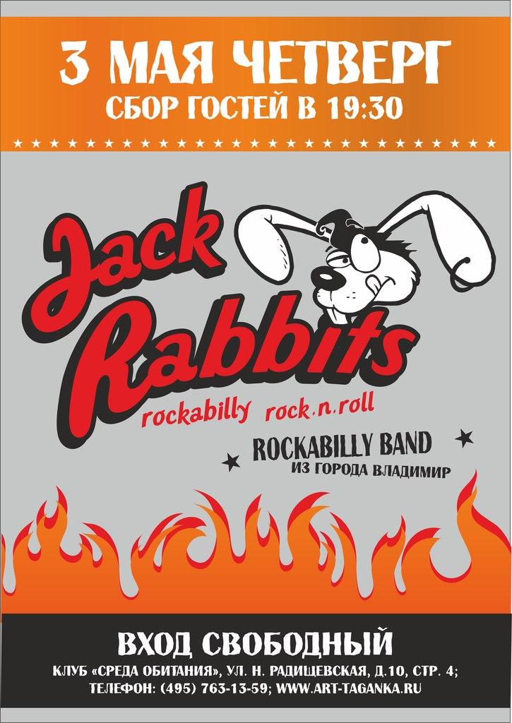 03.05 JACK RABBITS в Среде Обитания