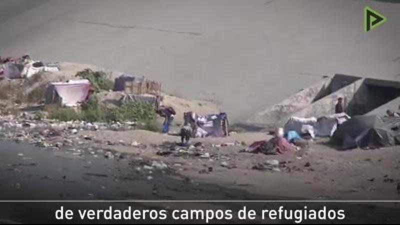 Frontera norte de México última parada para los migrantes