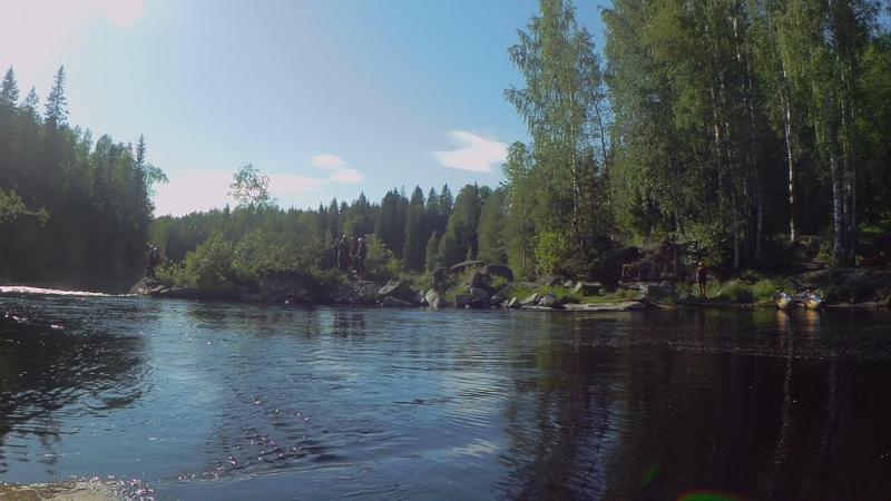 Сплав по реке Укса 2018