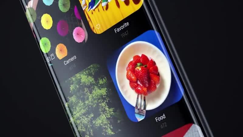 Samsung показала на видео интерфейс One UI