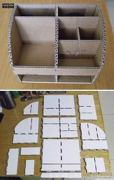 Как сделать из картона своими руками