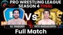 PWL 4 Final: Ali Shabanov vs Dato Marsagishvili   Haryana Hammers vs Punjab Royals   Full Match