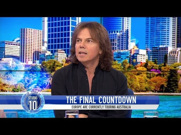 Joey Tempest Remembers 'The Final Countdown' Talks Europe's Reunion | Studio 10