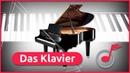 Das Klavier Aufbau Geschichte und Entwicklung