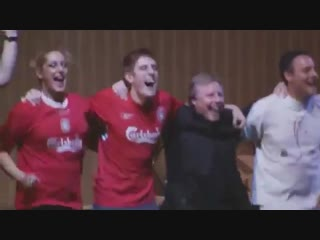 Heres a morning watch for you! Rafa Benitez dancing live on stage at the end of One Night In Istanbul!