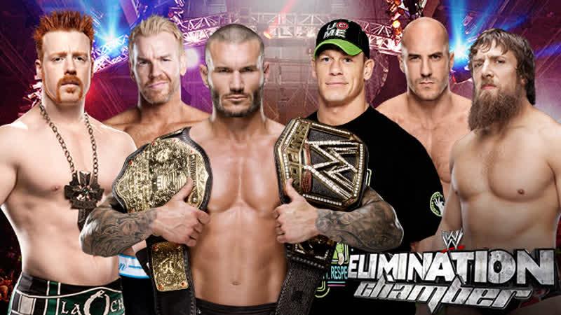 Sheamus vs Christian vs Randy Orton vs John Cena vs Cesaro vs Daniel Bryan
