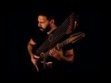 Watch Javier Rubio Carballo plays Scarborough Fair on his 21 string harp guitar