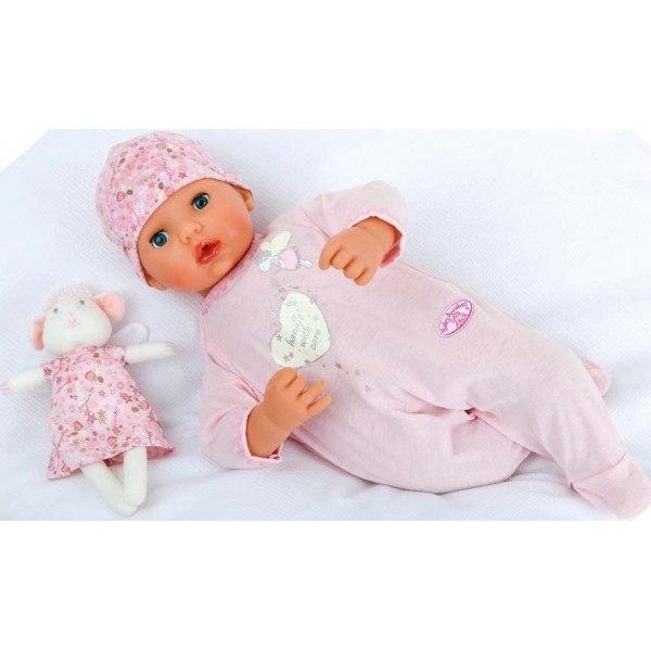 кукла baby annabell мальчик с мимикой 46 см