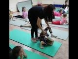 Гимнастика и акробатика в школе танца Феерия