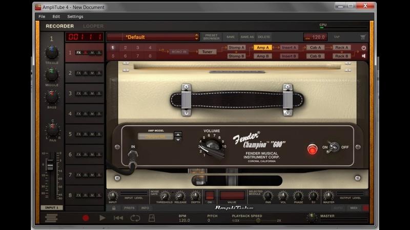 Trancebluesserylis - Third Stone From The Sun Jimi Hendrix (AmpliTube 4)