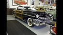 1950 Chrysler Town Country Woodie Coupe Engine Start Up on My Car Story with Lou Costabile
