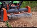 Измельчение древесных отходов - Железный Дровосек