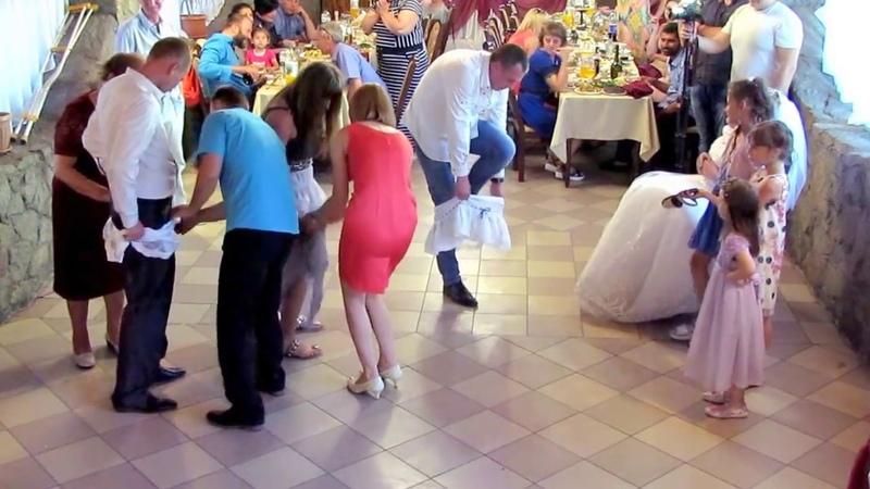 Выкуп туфельки на свадьбе 2018 Запорожье тамада ведущая Мария