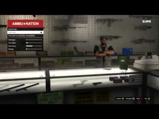 First look on GTA V  - Gun shop Leaked Gameplay