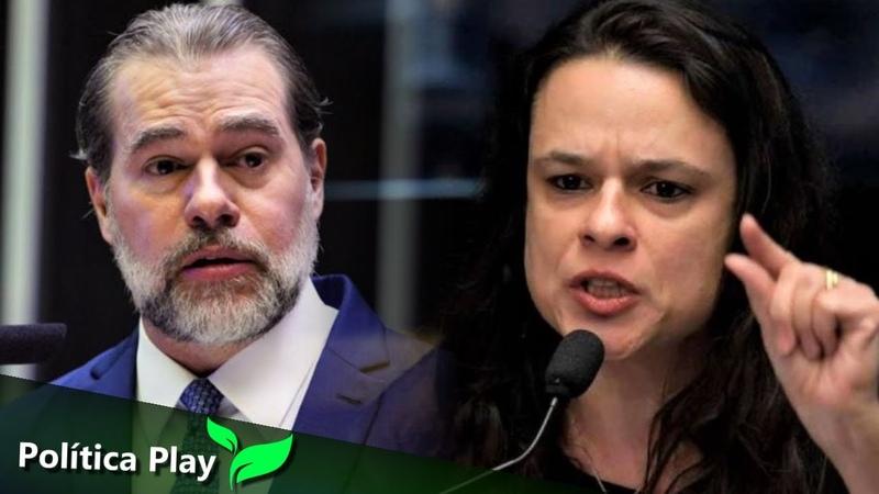 Janaina Paschoal não perdoa Dias Toffoli STF detona Alcolumbre e defende Alessandro Vieira
