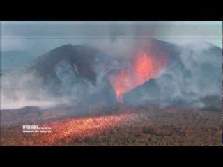 Извержение вулкана Толбачик - Eruption of a volcano of Tolbachik 12-2012-v1