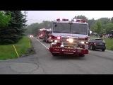 Парад пожежної техніки в Денвері, штат Колорадо, США