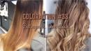 Coloration 38 Балаяж с тонированием в технике Overflow. Balayage