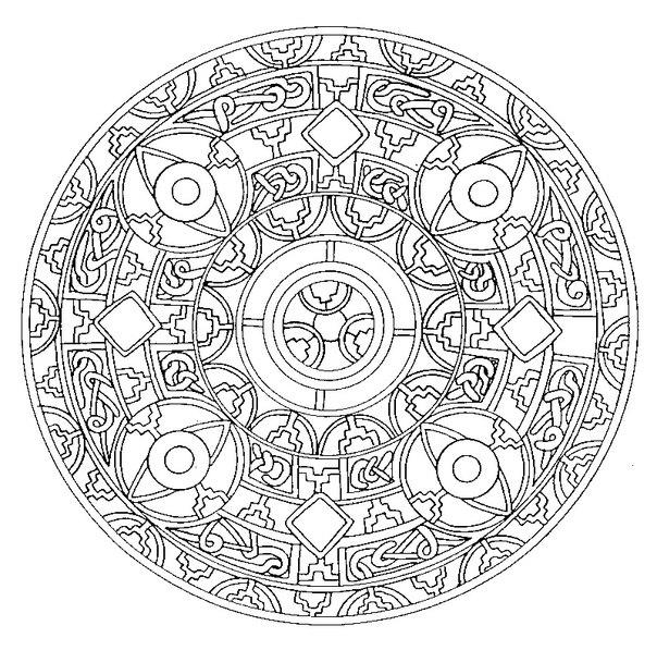 Мандала — это геометрический