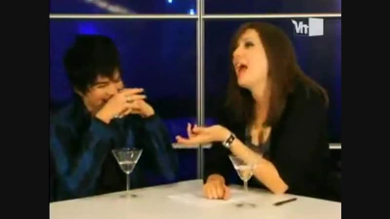 Adam Lambert - Martiny Minute with MICHELLE COLLINS - 25/11/2009