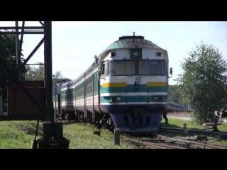 Дизель-поезд ДР1А-225 в депо Таллин-Вяйке / DR1A-225 at Tallinn-Väike depot