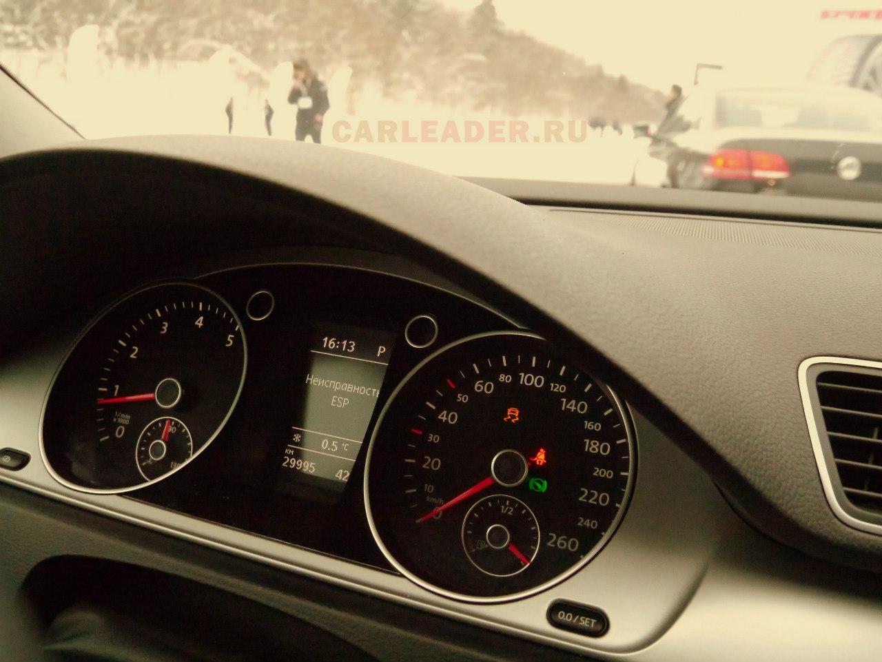 VW Passat 2012 неисправность ESP