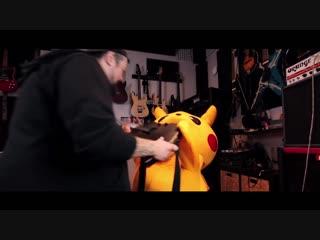 Метал кавер саундтрека к Покемону от Leo Moracchioli