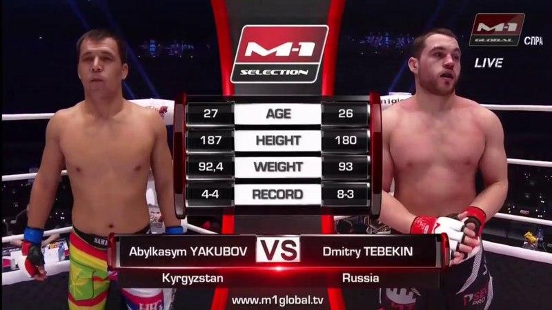 Абылкасым Якубов vs Дмитрий Тебекин M 1 Challenge 90