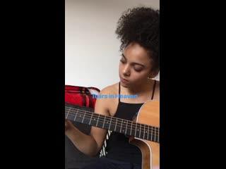 Instagram Алис Шеннон I Игра на гитаре #2