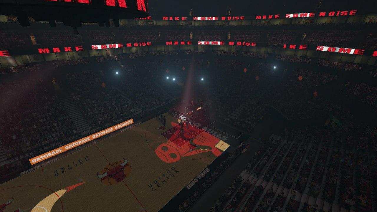 Чикаго Булз арена НБА2К15