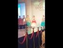 Саида Отаров на неделе Высокой Моды в Москве