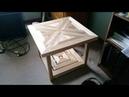 Деревянный столик с наборной столешницей Своими Руками 2019 Wooden table