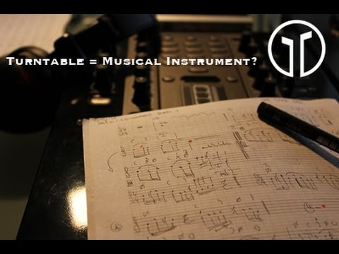 Why is the turntable a musical instrument? by QSU Guest Professor Alex Sonnenfeld