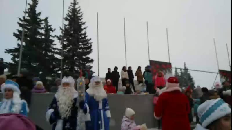 Ледовый городок г.Троицк