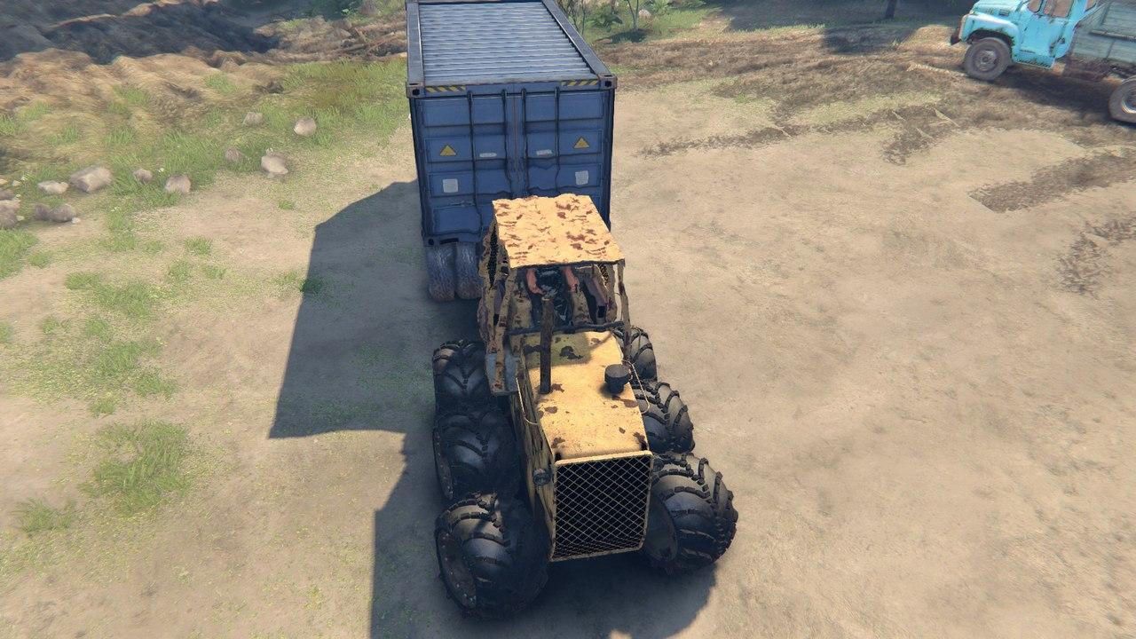 Трактор The Mule  IOSM_UtPtD8