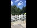 Поющие фонтаны парк Горького