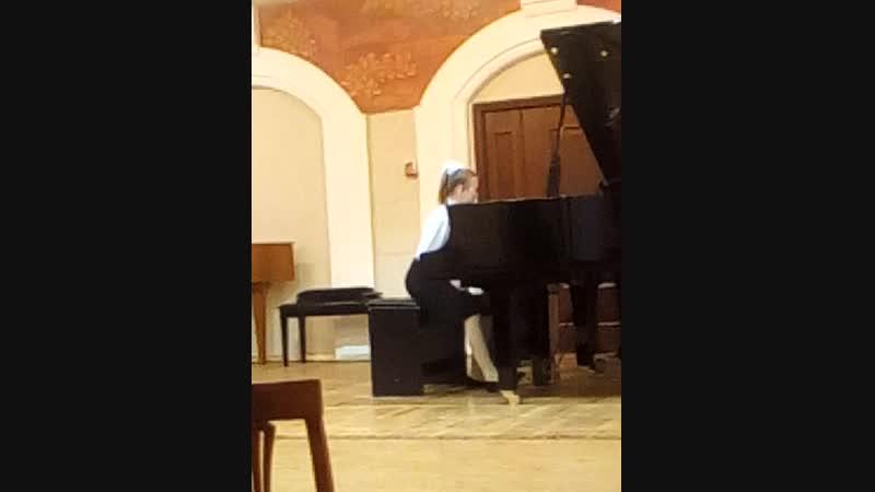 1 Всероссийский фортепианный конкурс-фестиваль Maria Fest. Декабрь 2018 г. Москва.