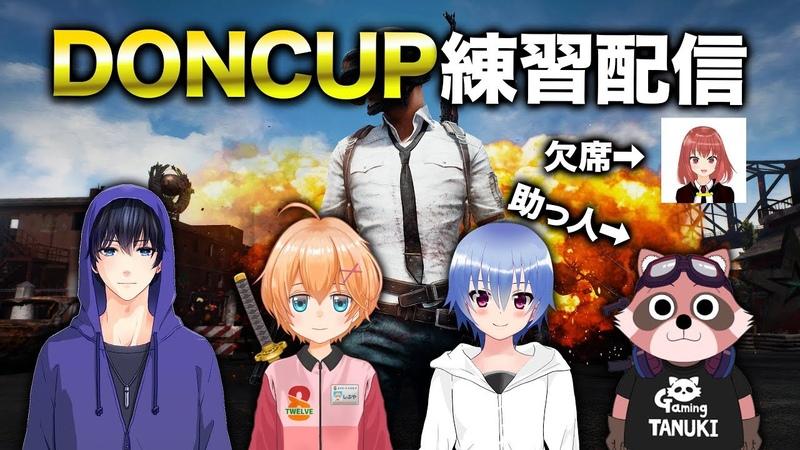PUBG DONCUP練習配信 渋谷ハル