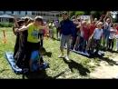 """""""Веселые старты""""- в пришкольном летнем оздоровительном лагере при Кантауровской школе."""