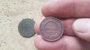 Чистка медных монет ОГНЕМ