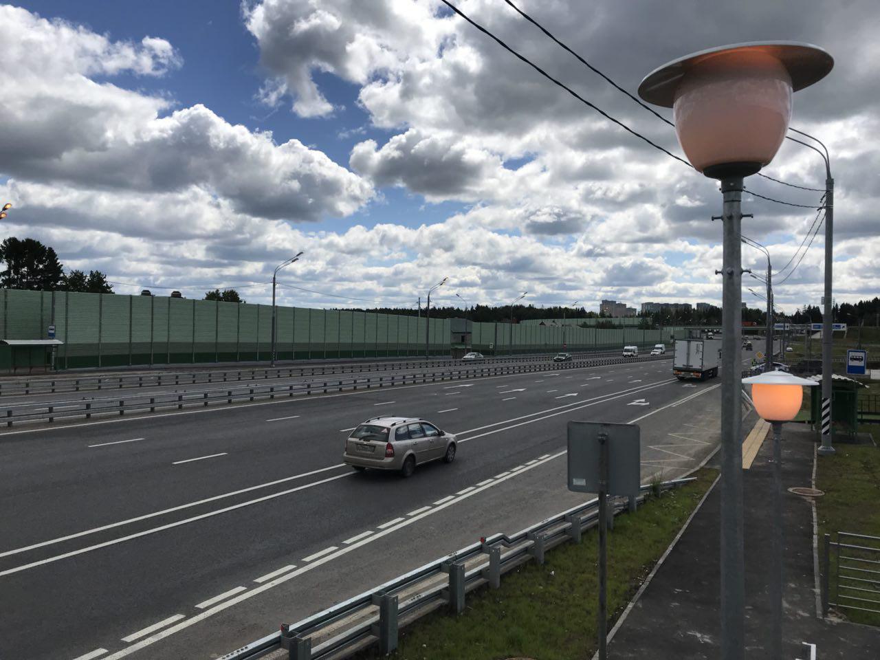 Счастливая развязка: участок на Дмитровском шоссе открыли после реконструкции
