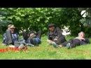 Астраханские бомжи аристократы обсуждают Димона тапка