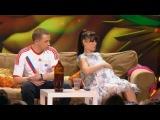 Камеди Вумен - Муж и беременная жена смотрят Чемпионат мира по футболу