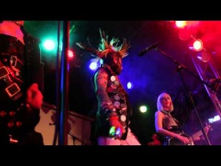 Sigue Sigue Sputnik Electronic Easter Tour 2014, Witten Germany, Alien Christ