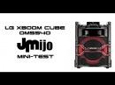 LG XBOOM CUBE OM5540 - Juanmanuelijo Mini-Test