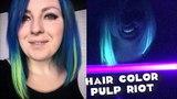 Hair color Pulp Riot окрашивание неоновые волосы стрижка как у Ольги Бузовой