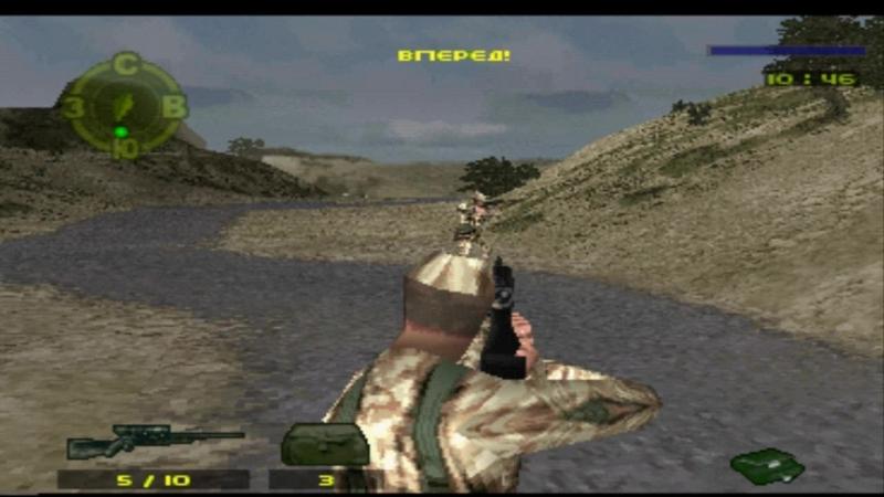 Spec Ops Covert Assault Тренировка солдатика (озвучка Paradox)