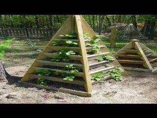 Грядки для клубники идеи для дачи сада и огорода от дачников садоводов хенд мейд своими руками.mp4